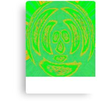 Mr Squiggly Tee Canvas Print