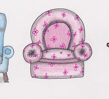 The Three Bears Chairs by megandresback