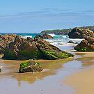 Rocky coast at Malacoota, Victoria, Australia. by johnrf