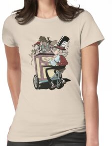 Jazzratz pt.1 Womens Fitted T-Shirt