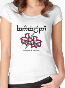 Vanimelda Women's Fitted Scoop T-Shirt