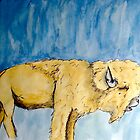 Orange Buffalo: The Sky is Not Cloudy by queencreative