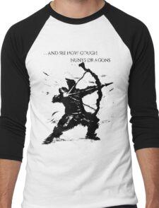 Hawkeye Gough Men's Baseball ¾ T-Shirt