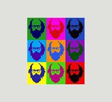 Allen Ginsberg b/w Andy Warhol Unisex T-Shirt
