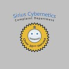 Sirius Cybernetics Complaint Department by queencreative