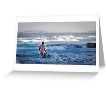 The call of the waves Greeting Card