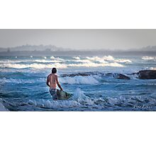 The call of the waves Photographic Print