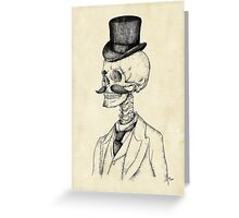 Old Gentleman Greeting Card