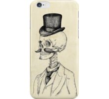 Old Gentleman iPhone Case/Skin