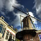 Gouda Windmill by Rob Hawkins