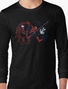 Spider-Man vs Venom and Carnage Long Sleeve T-Shirt