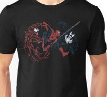 Spider-Man vs Venom and Carnage Unisex T-Shirt