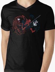 Spider-Man vs Venom and Carnage Mens V-Neck T-Shirt