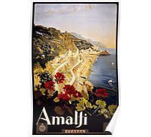 Vintage Italian Travel Poster Poster