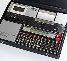 Seiko MC-2200 + MP-220 Pocket Computer by Keith Midson