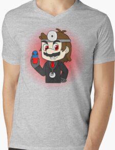 Smash Bros - Evil Dr. Mario Mens V-Neck T-Shirt