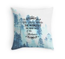 Lunar Chronicles Quote Throw Pillow