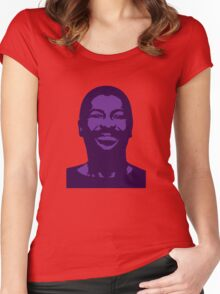 Teddy Pendergrass Women's Fitted Scoop T-Shirt