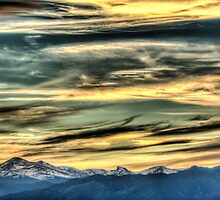 The Rush Of Colorado Sky  by Gregory J Summers