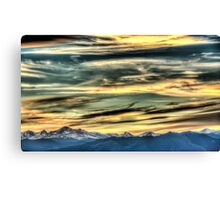 The Rush Of Colorado Sky  Canvas Print
