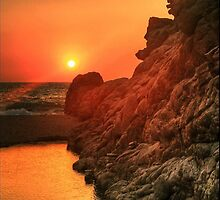 Sunset - Nas, Ikaria, Greece by NicoleTsek