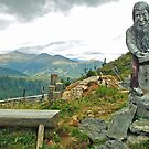 On top of the Nockalm - Austria by Arie Koene