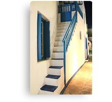 Traditional - Minimal Greek house Canvas Print