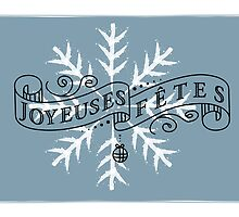 Joyeuses Fête by StudioRenate