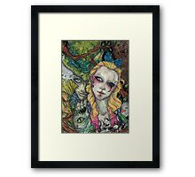Take A Look Outside The Gaze Framed Print
