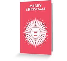 Blowfish Christmas Greeting Card