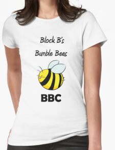 Block B's Bumble Bees Womens Fitted T-Shirt