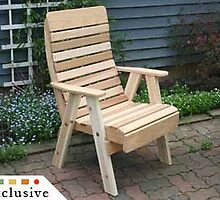 Red Cedar Royal Highback Porch Swing by fifthroom