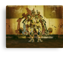 Steampunk Robot - The Nemesis Canvas Print