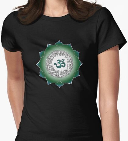 Aum 13 Womens Fitted T-Shirt