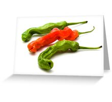 Peter Pepper Chili Greeting Card