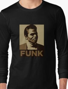 James Brown: FUNK Long Sleeve T-Shirt