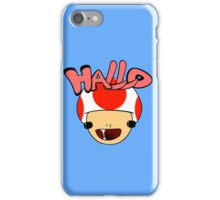 HALLO! - Toad iPhone Case/Skin