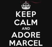 Keep Calm and Adore Marcel (DS) Kids Clothes