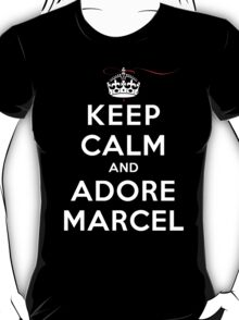 Keep Calm and Adore Marcel (DS) T-Shirt