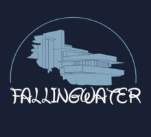 Fallingwater/ Disney //colours// One Piece - Short Sleeve