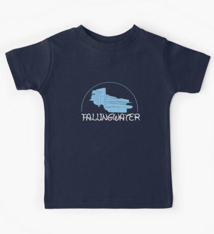 Fallingwater/ Disney //colours// Kids Tee