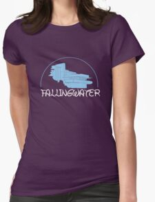 Fallingwater/ Disney //colours// Womens Fitted T-Shirt