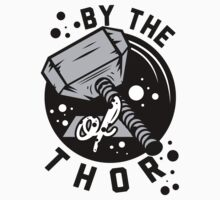 By the hammer of Thor t shirt. by Six 3