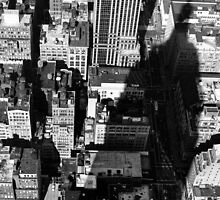 EMPIRE STATE BUILDING SHADOW by Paul Tanner