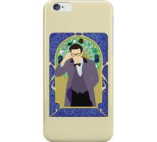 The Eleventh Doctor a la Alphonse Mucha iPhone Case/Skin