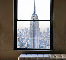 EMPIRE STATE BUILDING VIEW by Paul Tanner