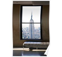 EMPIRE STATE BUILDING VIEW Poster