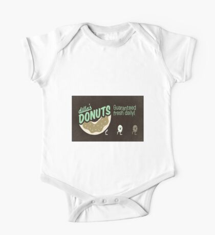 Dilla's Donuts One Piece - Short Sleeve