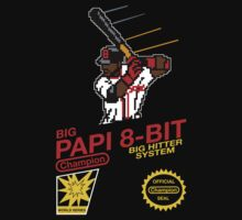 Big Papi 8-bit Tee by printproxy