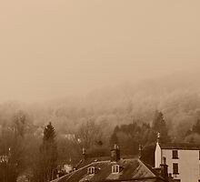 Countryside in the mist by picview